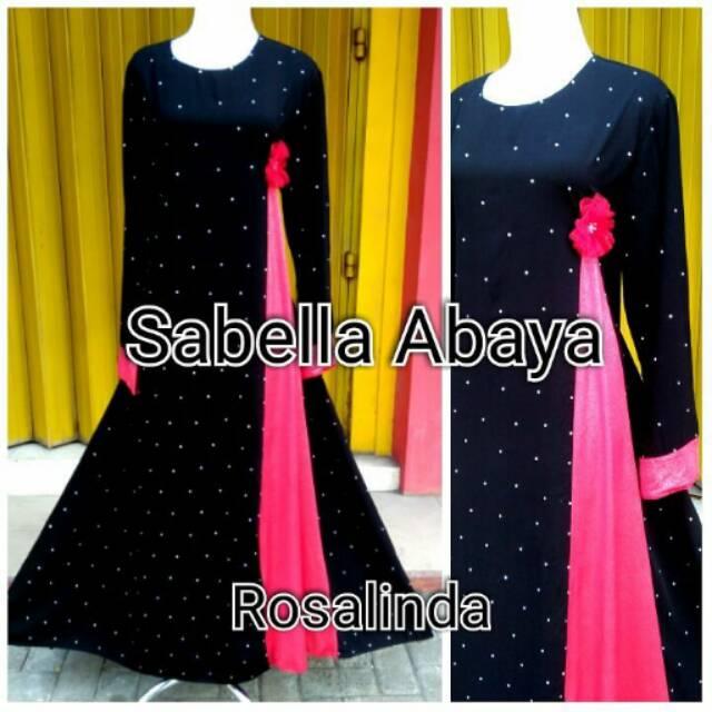 Gamis abaya rosalinda