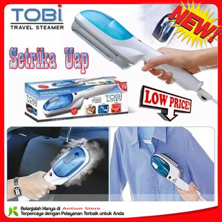 [Free Wrap] SETRIKA UAP TOBI TRAVEL STEAMER TOBI STEAM WAND LAUNDRY MURAH