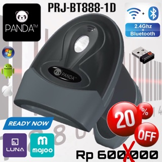1D LASER BARCODE SCANNER PANDA PRJ-BT888-1D ANDROID/IOS/WINDOWS (BLUETOOTH+2.4G+USB)