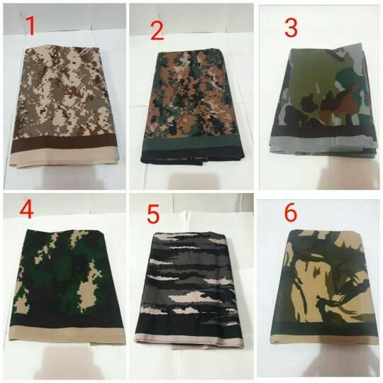 sarung loreng army