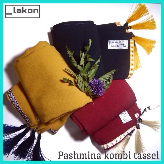 PASHMINA KOMBI TASSEL