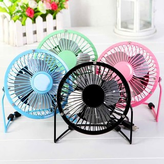 Kipas Angin Mini Usb / Usb Mini Fan / Portable Usb Fan / Kipas - Hitam,pink,biru