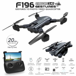 Drone Nartor F196 Sg900 RC Quadcopter Wifi Fpv Dual Camera HD 720P Follow me Altitude Hold 20Menit