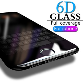 6D Full Cover Tempered Glass For iPhone 6 6s 7 8 X XS iPhone 7 8 Plus XS XR XS Max Screen Protector