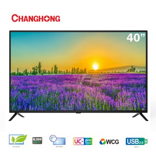 Changhong 40 Inch LED TV  40H2 FHD TV-HDMI-USB Moive-L40H2