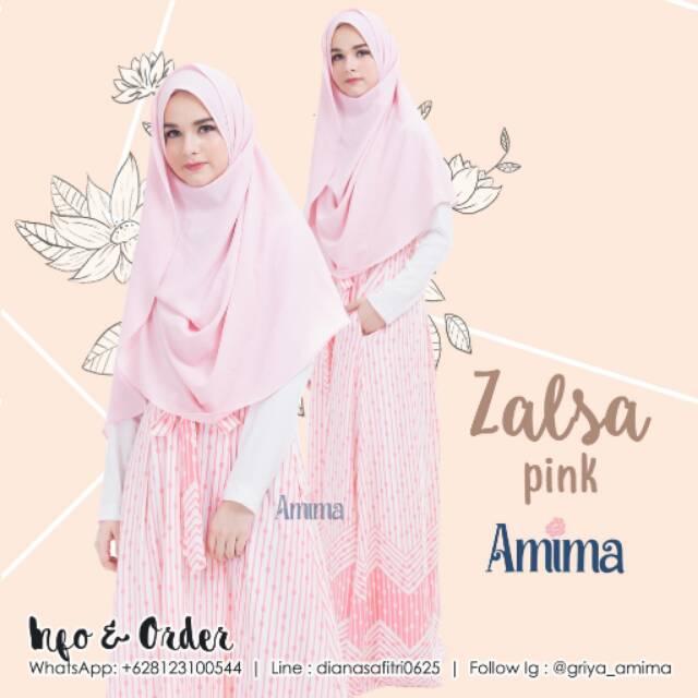 AMIMA ZALSA Dress Pink