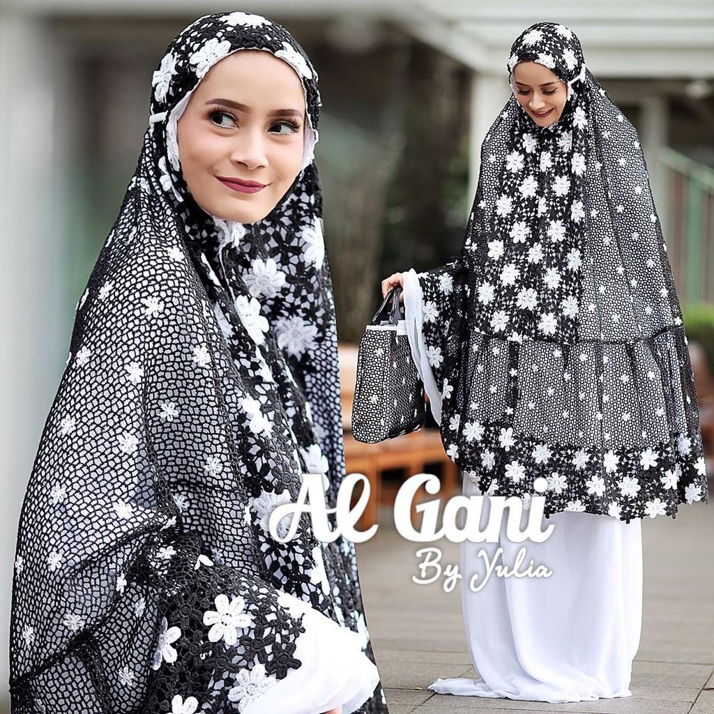 Best Quality Mukena Al Gani Original Fairuz by Yulia Terbaik!