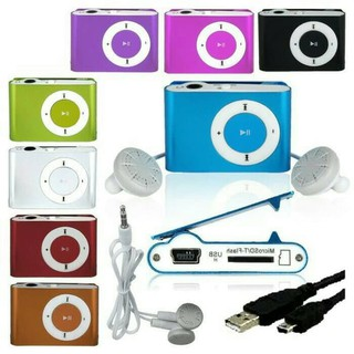 MP3 PLAYER JEPIT MERK / MUSIC PLAYER MICRO SD / MP3 BESI SUFFLE
