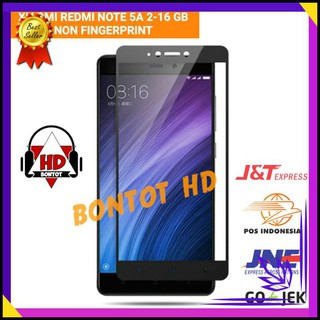 ANDROID OS XIAOMI REDMI NOTE5A NOTE 5A 2 16 GB ANTI GORES COLOR FULL LAYAR HP