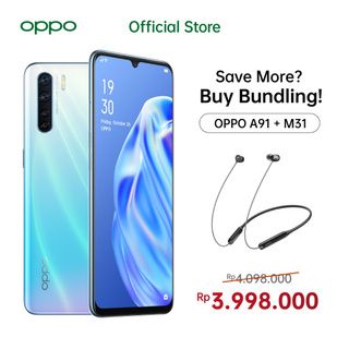 OPPO A91 Bundling OPPO Official Accessories