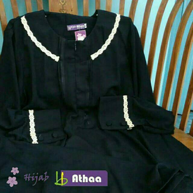 Shabeera gamis Hijab athaa preloved gamis