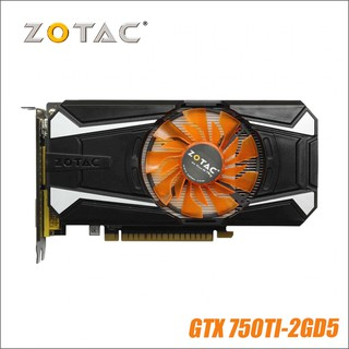 graphics cards Original ZOTAC Video Card GeForce GTX 750 Ti 2GB 128Bit GDDR5 Graphics Cards for