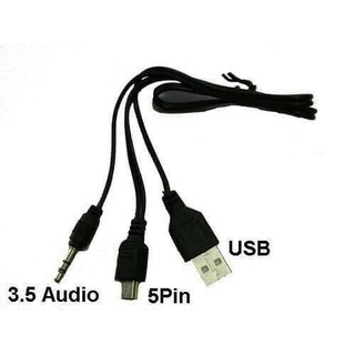 kabel usb 5 pin + audio (kabel speaker)