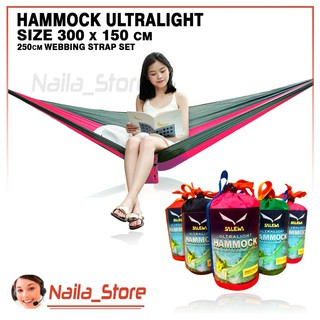 Hammock salewa Ayunan Gantung Ultralight Murah Camping Hiking Outdoor