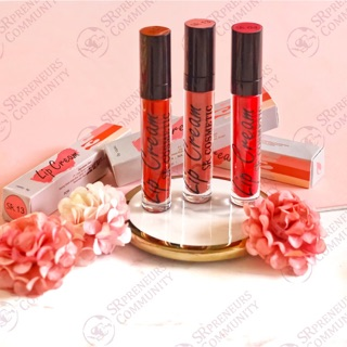 LIPCREAM MATTE RASA MOIST SR12 HERBAL BPOM