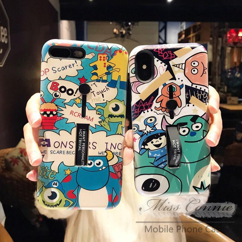 Hard Case IPhone 6 / 6S / 7 / 8 Plus / X XR XSMAX Monster University Cartoon Cover