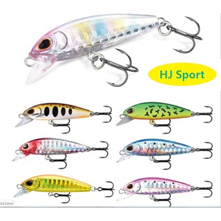 50mm 6g Fishing Lures Minnow Fishing Tackle Siwmbait