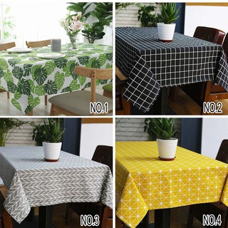 Ramadan Cotton Linen Taplak Meja Dustproof Table Cover Table Runner dekorasi Ikea peralatan dapur