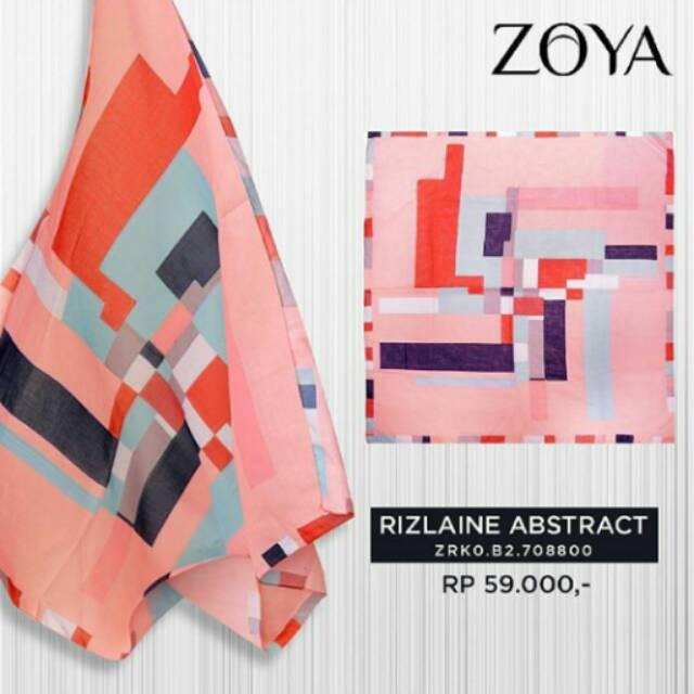 RIZLAINE ABSTRACT SCARF ZOYA