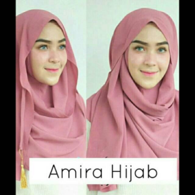 PROMO @15.000 Jilbab Instan Amira/Pasmina Amira/Amira Instan/Amira Hijab/Pasmina Insta