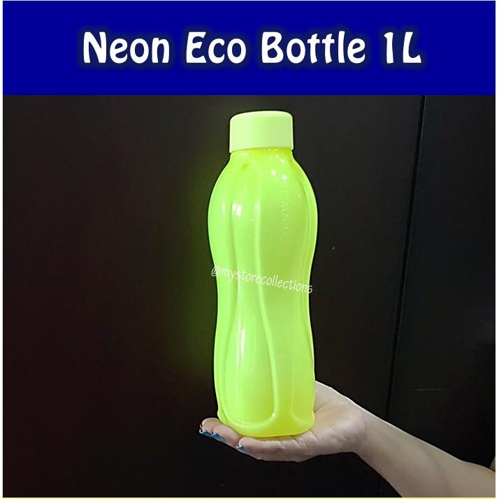 Neon Eco Bottle 750ml Hijau Lime (1 Pcs)  Botol Minum Tupwr