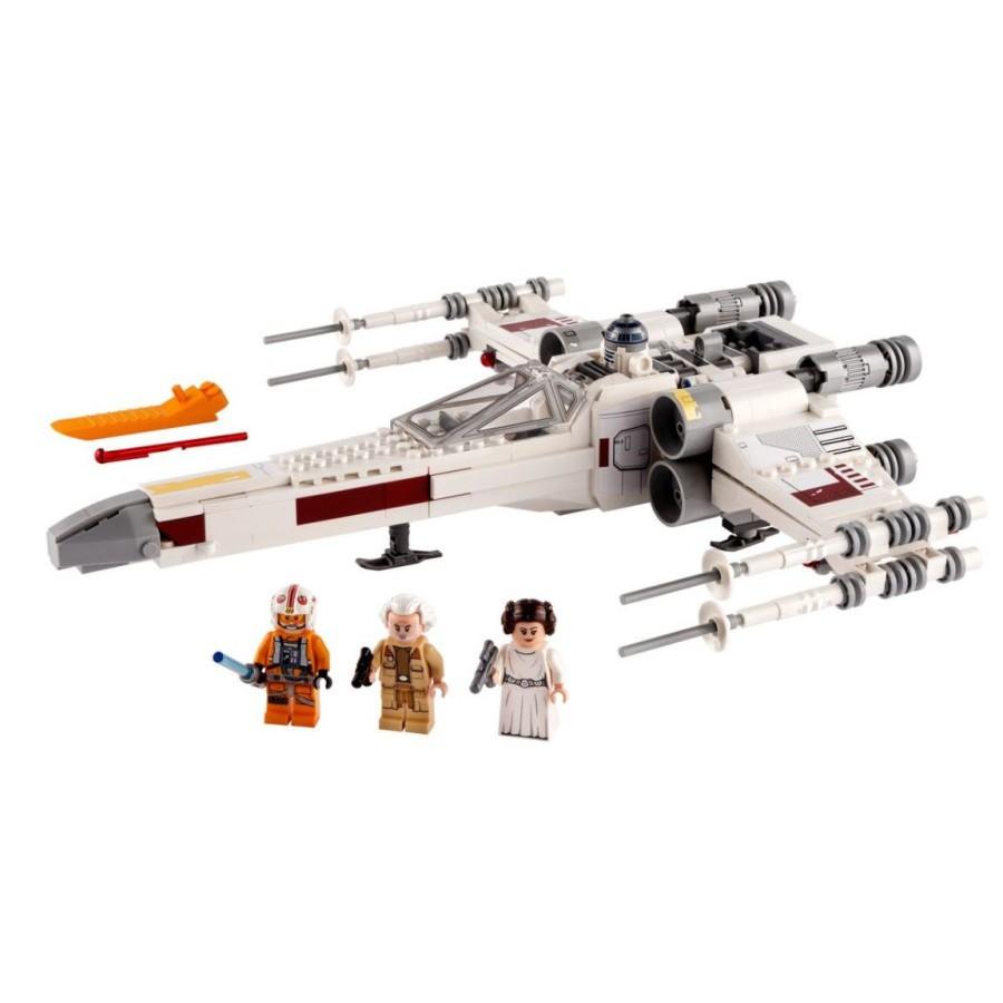 Lego Star Wars 75301 Luke Skywalker S X Wing Fighter Jedi Luke Ori Shopee Indonesia
