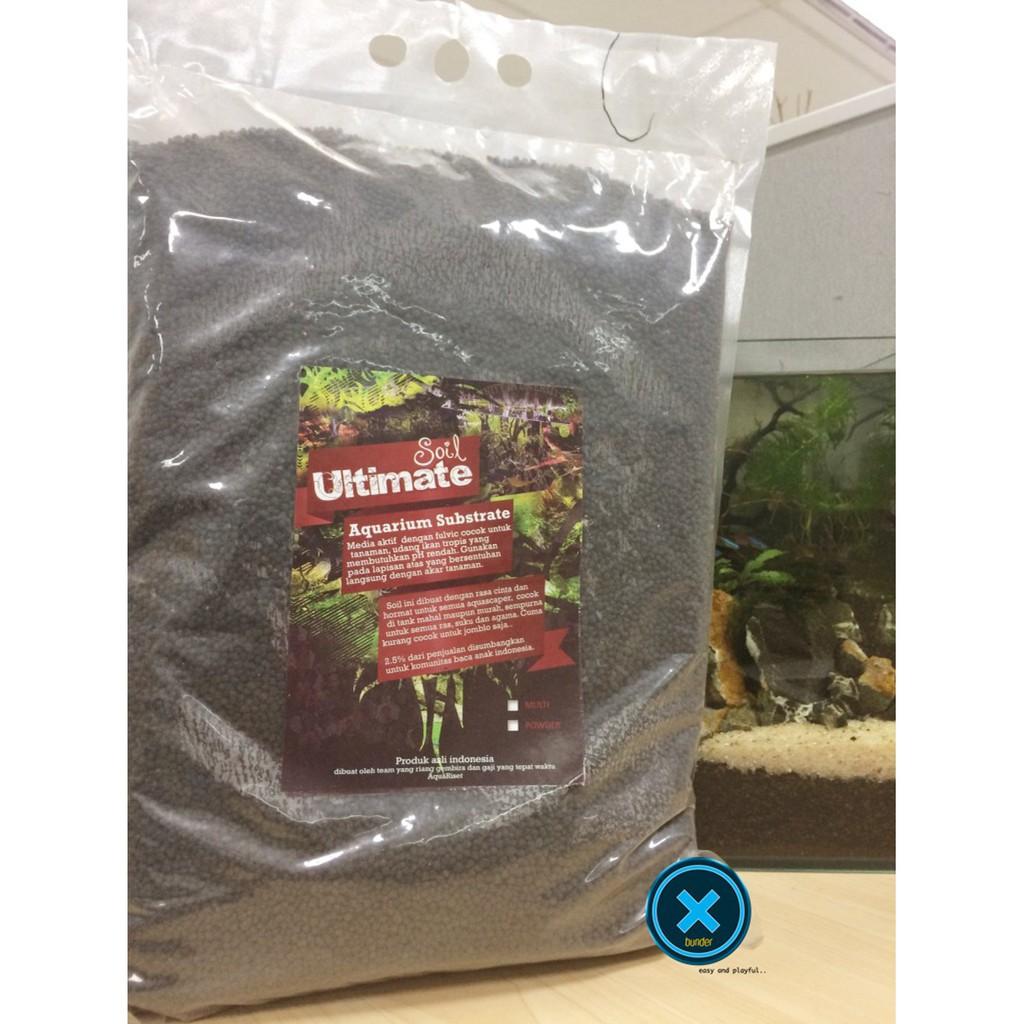 Cuci Gudang Ultimate Soil Ultimatesoil Media Tanam Aquascape Fisiden Moss Lempeng Tanaman Air Super Shopee Indonesia