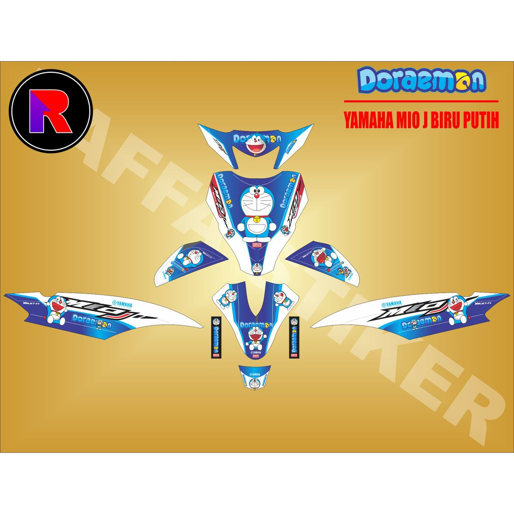 Decal sticker fullbody yamaha mio soul 2010 full branding shopee indonesia