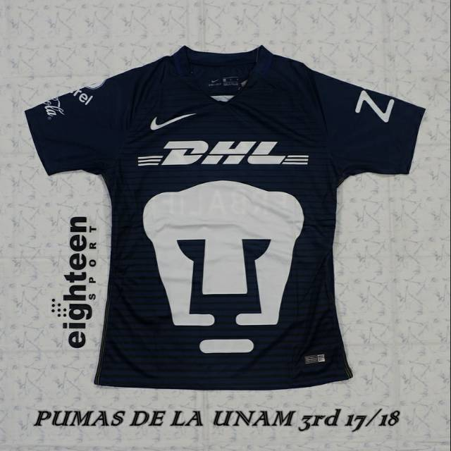 c2f4c0e66 Jersey Pumas De La Unam 3rd 17/18 | Shopee Indonesia