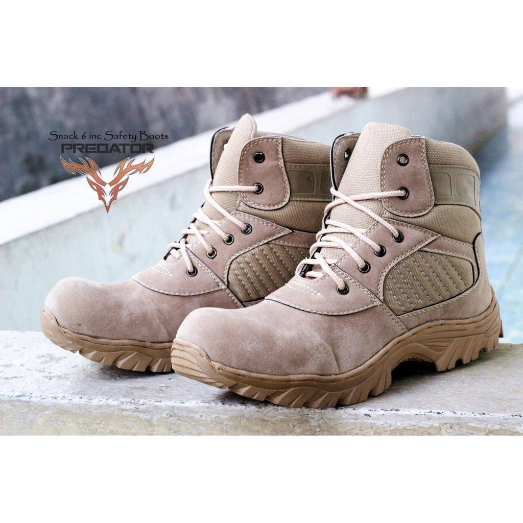 DNG  CATERPILLAR HOLTON ( MF190922 ) - Sepatu Boots Safety Ujung Besi  Sepatu Proyek Kerja Lapangan  b9f4aff261