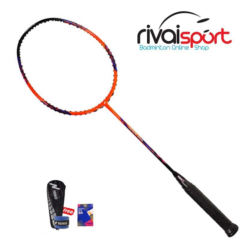 Raket Badminton Nimo IKON 200 - ORANGE
