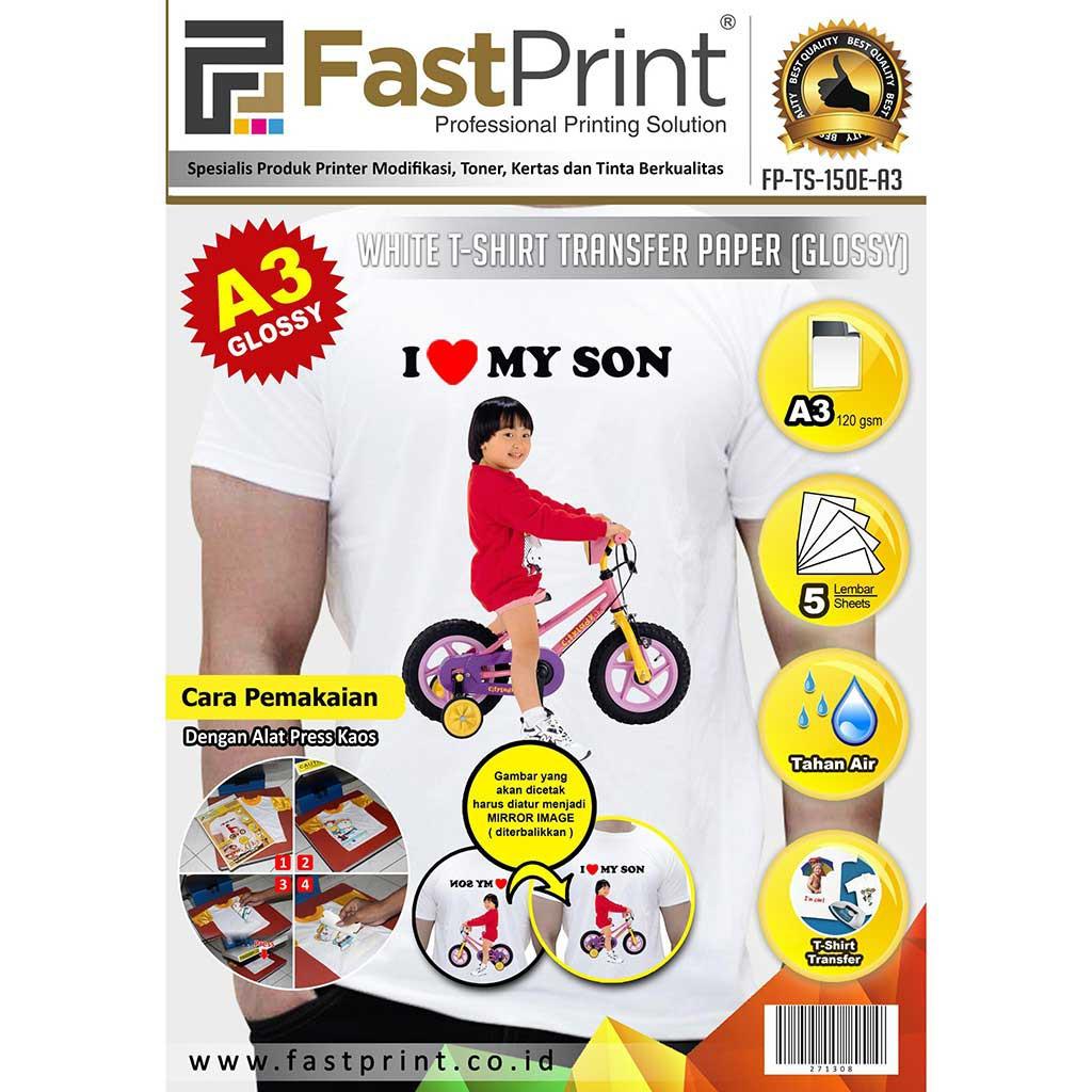 Kertas Transfer Paper China A4 T Shirt Kaos Warna Hitam Gelap Fast Cairan Pretreatment Tinta Dtg 1000ml Khusus Kain Katun Print Shopee Indonesia