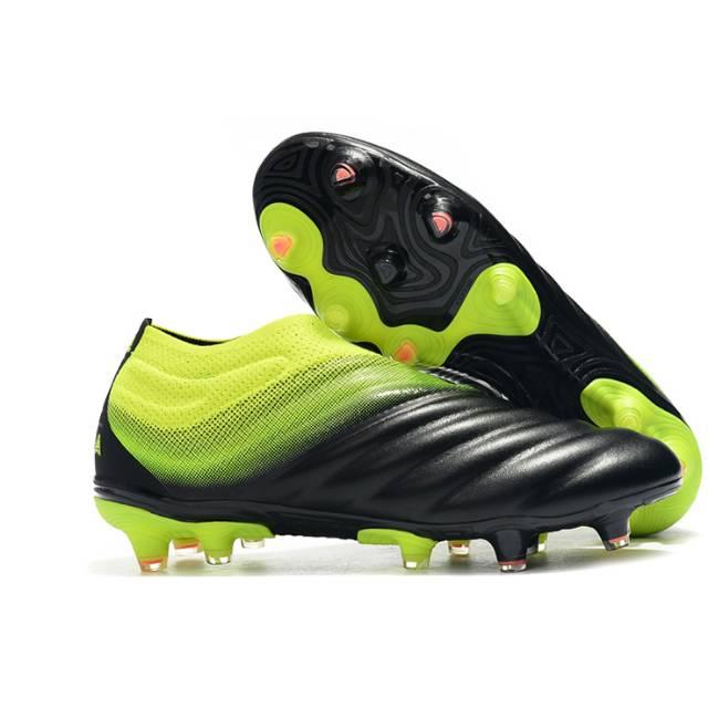 Sepatu Bola Adidas Copa 19 Black Green Premium Quality Shopee