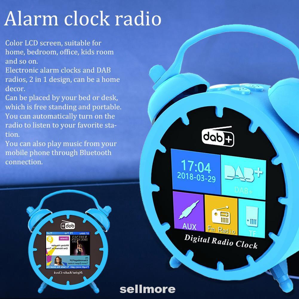 2in1 Jam Alarm Radio Bluetooth 5 0 Dengan Antena Untuk Rumah Kamar Tidur Mobil Kantor Shopee Indonesia