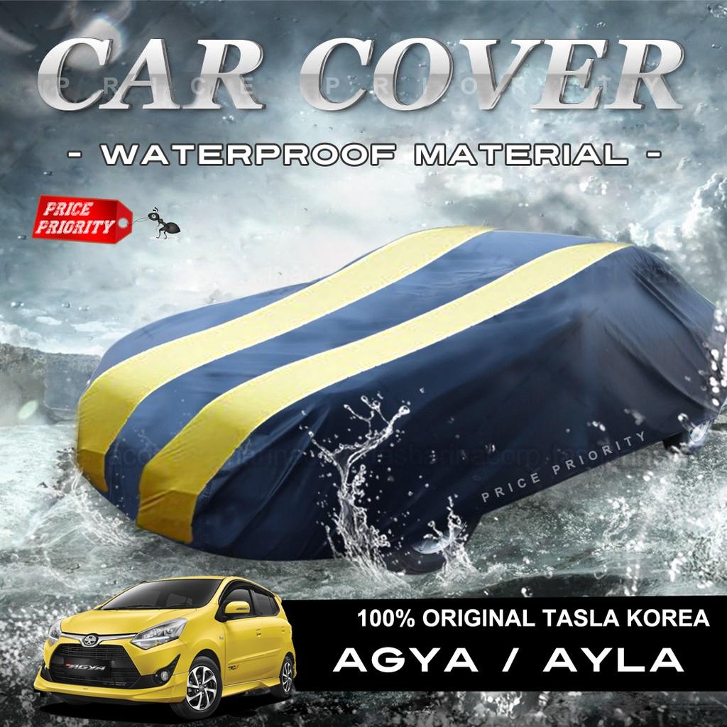 Cover Selimut Mobil Karimun Brio Jazz Yaris Agya Ayla Datsun Go Rs Swift Wagon Splash Visto Getz Mazda 2 Ford Fiesta Latio Sarung Body Mirage March