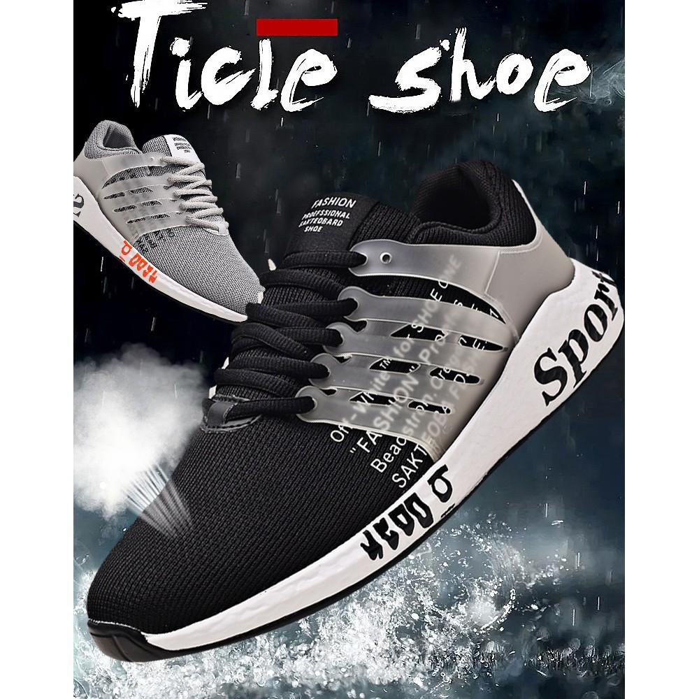 Gaya Busana Baru Unisex Sepatu Olahraga Bernapas Kamuflase Sepatu Jala Kasual | Shopee Indonesia
