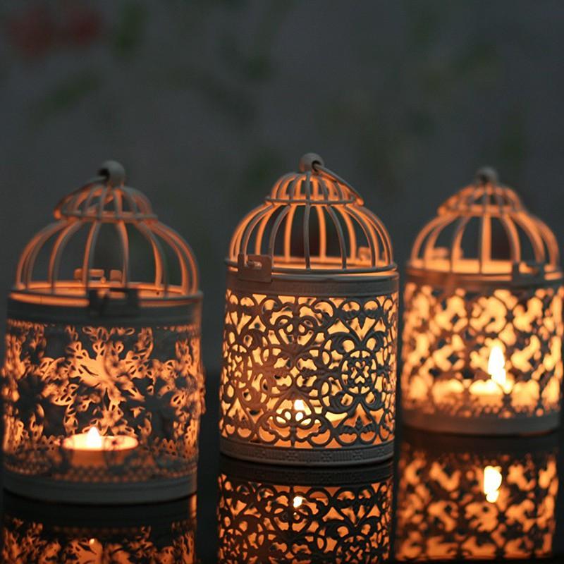 tempat lilin unik lentera maroko