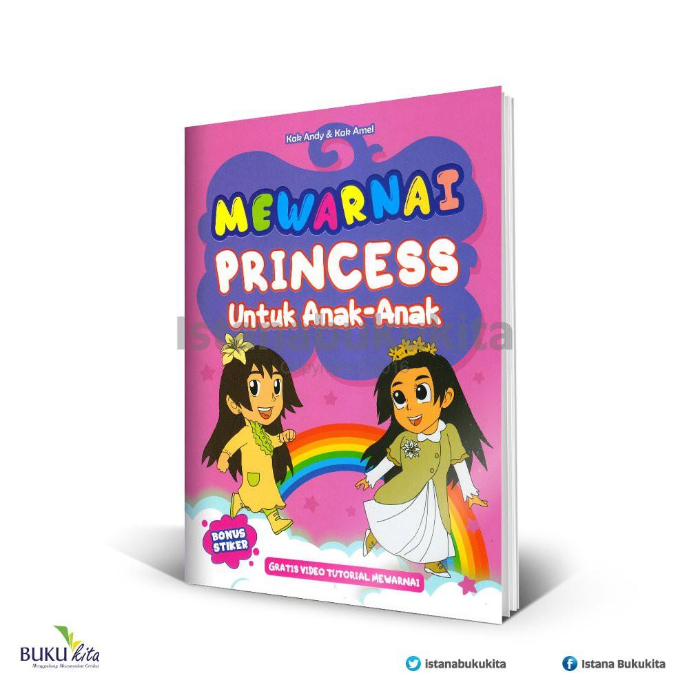 Mewarnai Princess Untuk Anak Anak Melatih Saraf Motorik Dan Sensorik