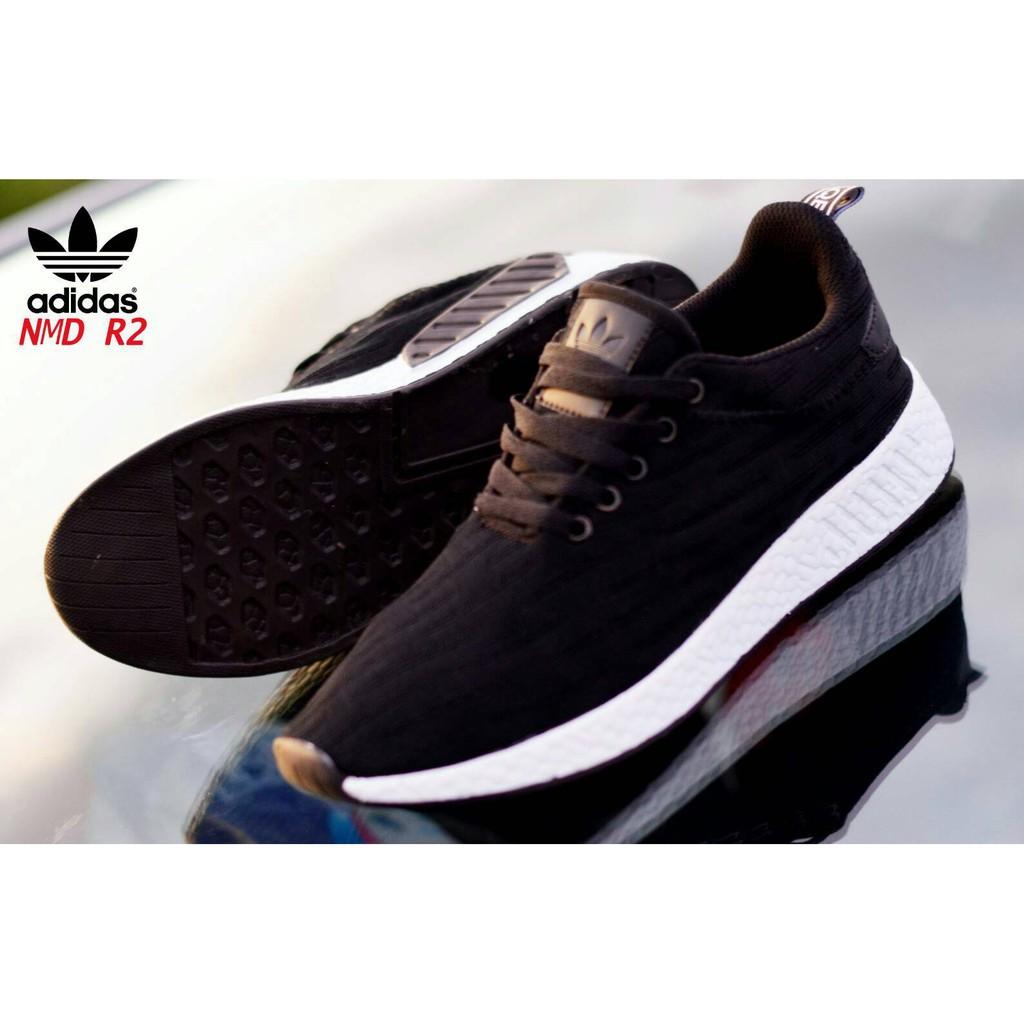 9035ccf8aa960 Sepatu Adidas NMD Human Race Supreme Boost Black Runner Import Quality  Cowok Cowo Man Men Pria