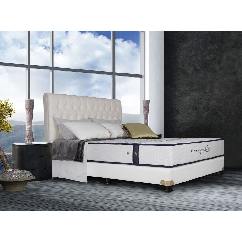 Uniland Standard Sandaran Chrysant Uk 100x200 Shopee Indonesia Beauty Bed Zebra Cho 160x200 Komplit Set