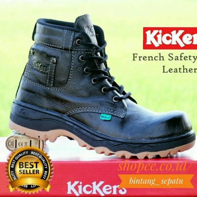 Sepatu Boots Pria Cowboy Jenggel Kulit Hitam GF 5201 GOLFER Cibaduyut  Bandung Distro  c43f4caceb