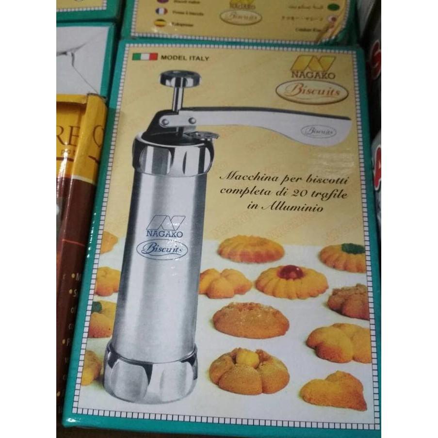 Ready Stock Plastic Biscuit Press Set No.182 Cetakan Kue Kerang Shell Semprit ..,.. | Shopee Indonesia