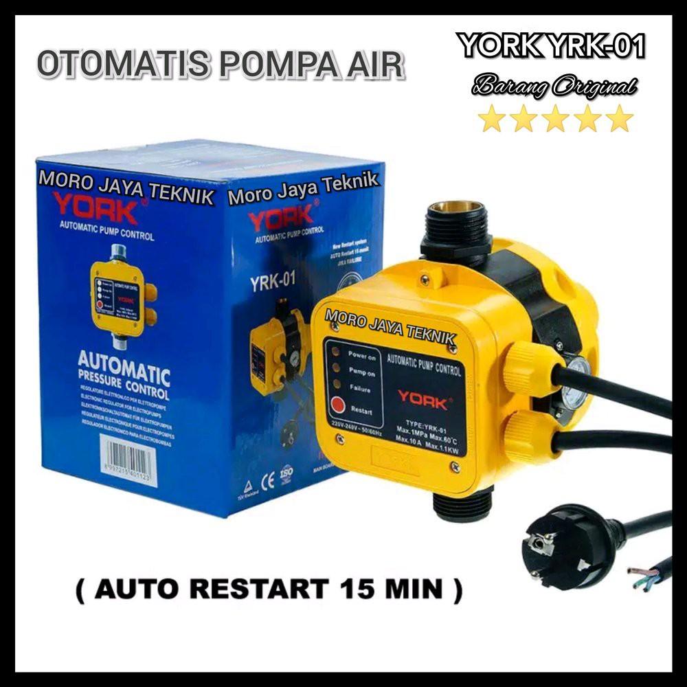 Jual Otomatis Pompa York Yrk 01 Otomatis Pompa Air New Auto Restart Super Awet Limited Shopee Indonesia