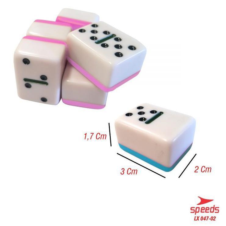 Game Domino Balok Tebal Gaple Qq Mahjong Kartu Domino Tebal 1 7cm Original Speeds Import 047 2 Kode Shopee Indonesia