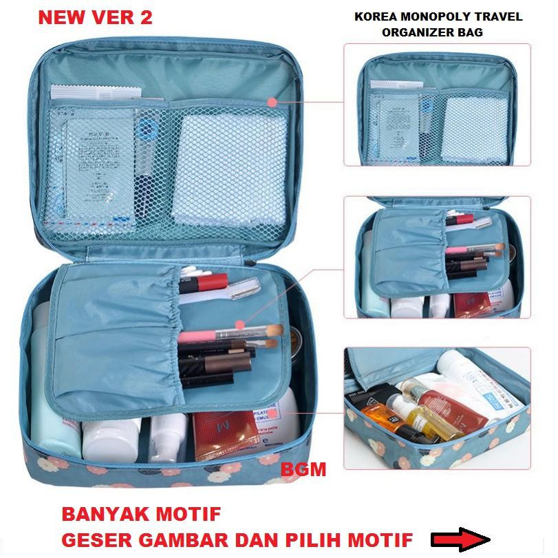 [DLIMZTORE] Travel Gadget Pouch Dompet Wallet Tas Tempat Handphone [TRV-009] | Shopee Indonesia