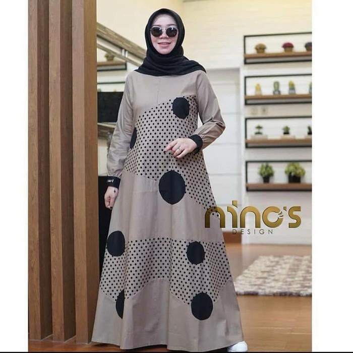 ONDE DRESS Baju Gamis Wanita Terbaru 2020 Dress Wanita Elegant Trendy