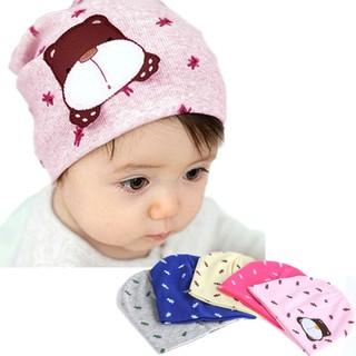 Topi Kupluk Bayi/Anak Laki-Laki/Perempuan Rajut Hangat Gambar Kartun Anjing untuk Musim Dingin