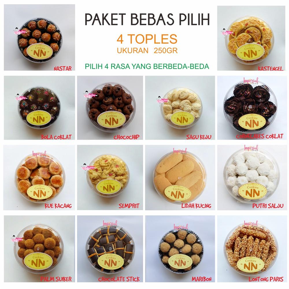 Promo Paket Kue Kering Butter Paket Toples Kecil Bebas Pilih 4 Toples Lebaran Natal Imlek Sincia Shopee Indonesia