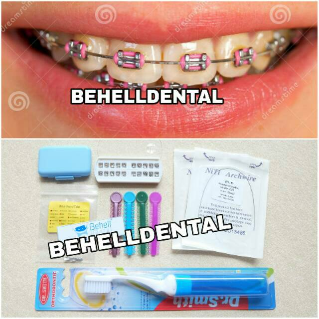 Sikat gigi behel merk ORAL B Orthodontic . Ortho . Braces . Kawat gigi  29ec2d7711