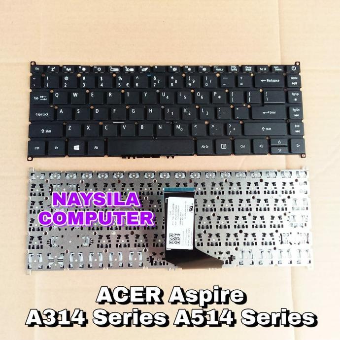 Keyboard Acer Aspire 3 A314 A314-21 A314-41 33 31 A514 A514-52 A514-53